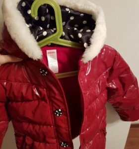 Курточка для девочки (зимняя)