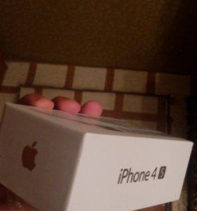 Iphone 4s ( коробка)