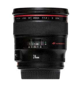 Прокат Canon EF 24mm f/1.4L II USM