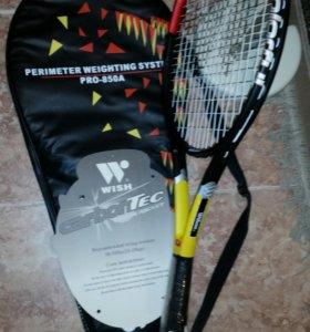 Теннисная ракетка графитовая новая