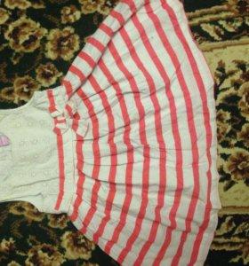 Платье р 86-92 от года до 2х