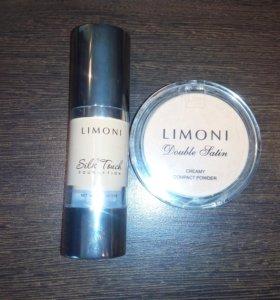 Тональный крем и пудра LIMONI
