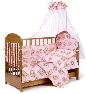 Детский набор в кроватку (новый)