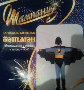Новогодний костюм бэтмэн