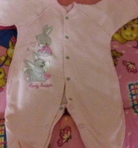 Продам одежду для девочки с рождения