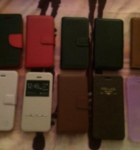Чехлы книжки на айфон iPhone