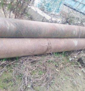 Железные трубы 159мм   1метр 420руб