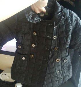 куртка-плащ на девочку