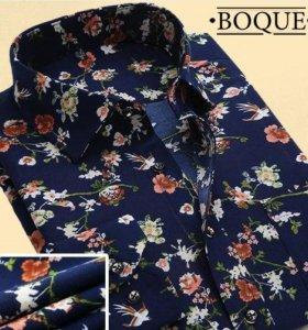 Рубашка с цветами