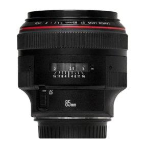 Прокат Canon EF 85mm f/1.2 L USM II