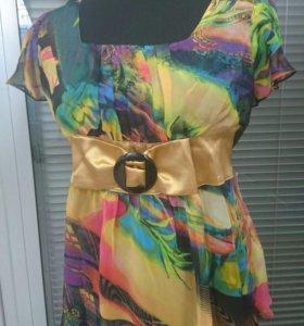 Блуза шифон (новая)