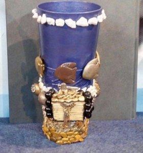 Сувенир - вазочка