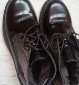 Ботинки зимние 39-40