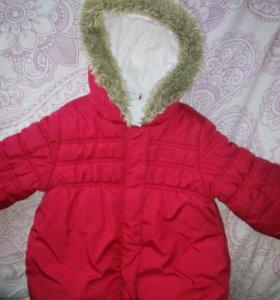 Куртка next весна  2-3года