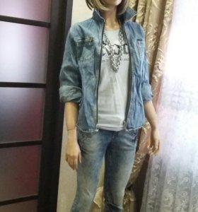 Продаю джинсы и рубашку.