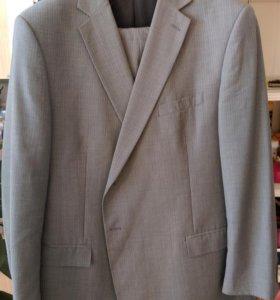 Костюм мужской,пиджак,брюки, 62 разм