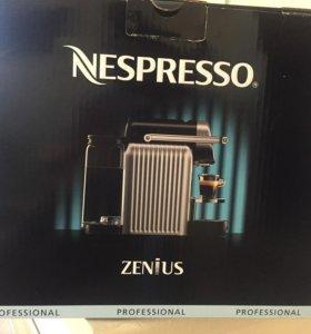 Кофеварка Nespresso Zenius