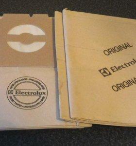 Мешки для пылесоса Electrolux 4 штуки.