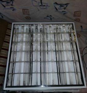 Светильники 4x18 armstrong