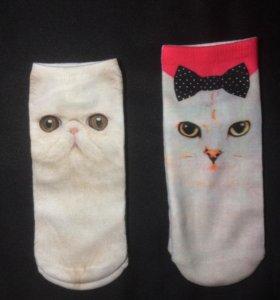 Носки с кошечками