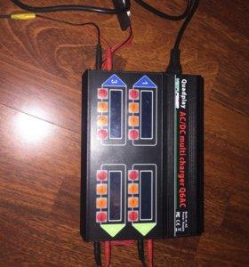 Четырёхканальное универсальное зарядное устройство