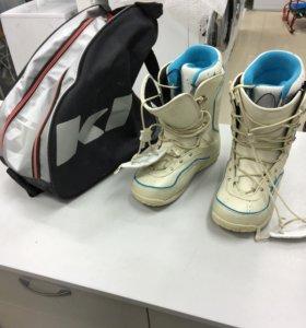 Ботинки для сноуборда Luna K2