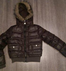 Куртка на девочку р.128