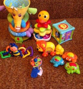 Игрушки Tiny Love, Bright Starts, Fisher Price