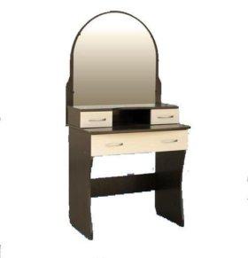 Стол туалетный (дамский трельяж) Венге/дуб