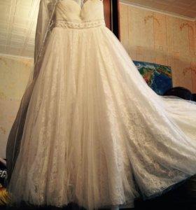 Платье свадебное!