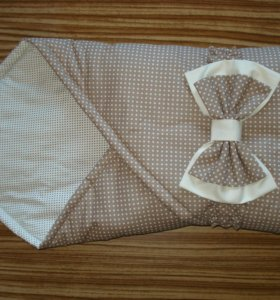 Одеяло-конверт с бантом новое и др.детям