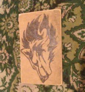 Подделка волк