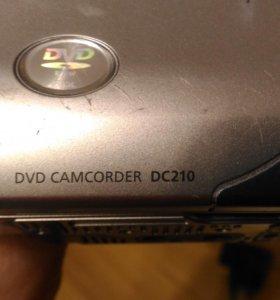 Видео камера пишет cd