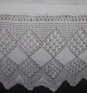 Красивая занавески на окно Винтаж Ручная вышивка