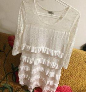 Платье белое!