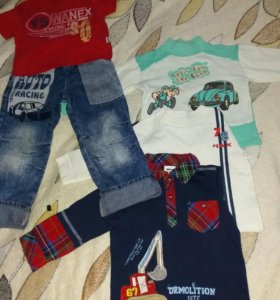 Детский трикотаж+ джинсы