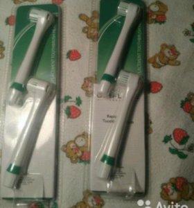 Насадки на электрическую зубную щетку.