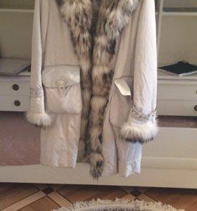 Пальто зимняя