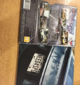 Need for Speed игра на диске