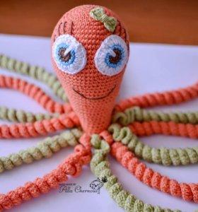 Вязаные осьминожки
