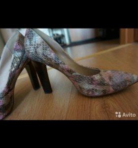 Красивые кожаные туфли )