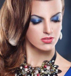 Прическа макияж на праздник Стилист