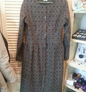 Шерстяное платье,  новое