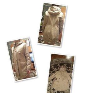 Куртка парка весна-осень новая