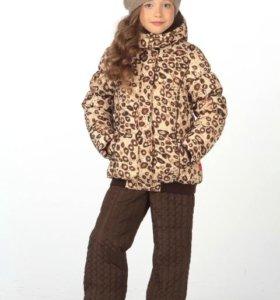 Куртка зимняя 3С System р122,128,134,140см Мал.Фея
