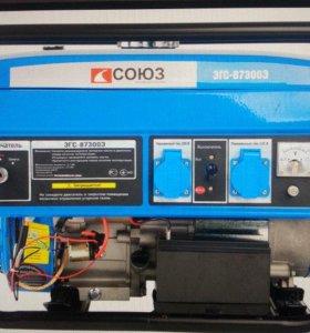 Генератор бензиновый 2.8 кВт с электростартером