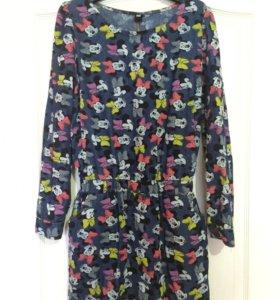 Джинсовое платье !!!