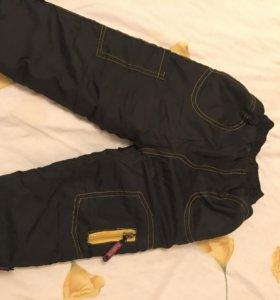 Джинсы и брюки теплые