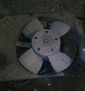 Вентилятор радиатора Ваз
