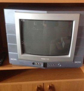 """Цветной телевизор""""TOSHIBA"""" с диагональю 34 см"""